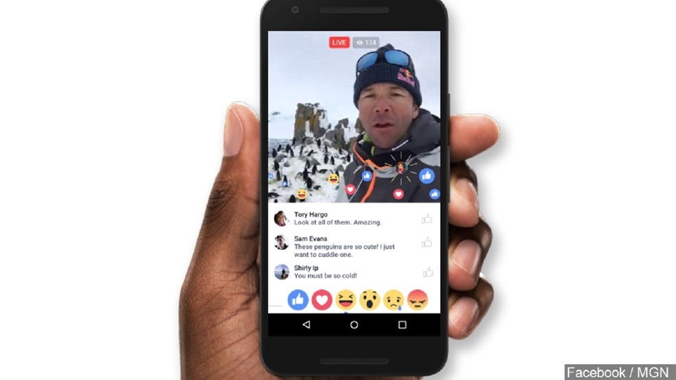 Facebook live map lets you find live streams from around the