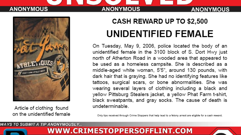 Crime Stoppers needs help solving a 13-year-old cold case, offering