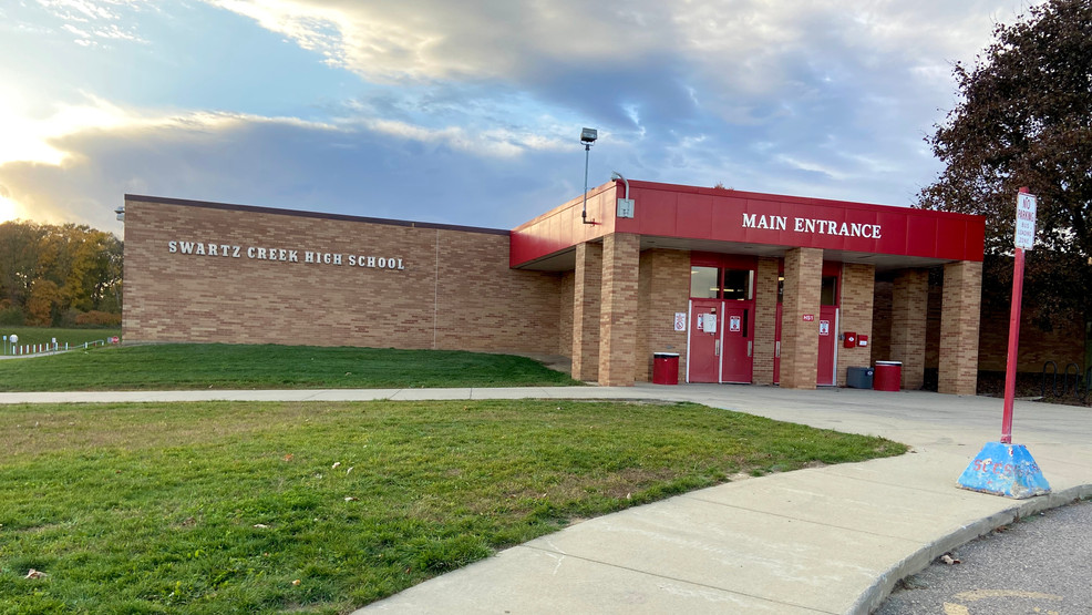 Swartz Creek High School to close for one week after students test positive  for COVID-19 | WEYI