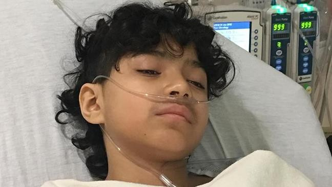 13-year-old boy battles cancers for the third time in two ...