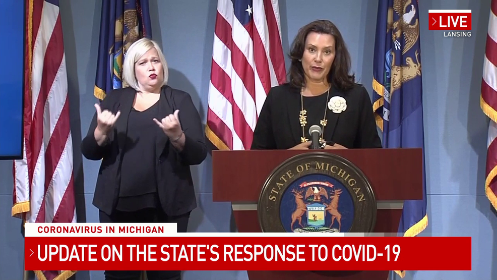 Gov Whitmer Asked About Re Opening Bowling Alleys And Gyms Weyi
