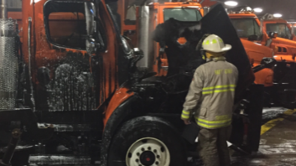 Saginaw County Road Commission A Total Loss Following Garage Fire