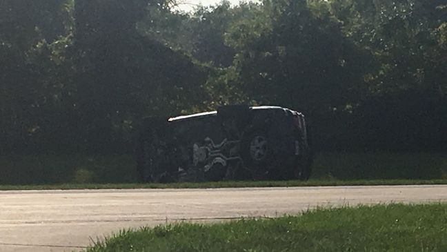 Driver has minor injuries after rollover crash in Frankenmuth   WEYI