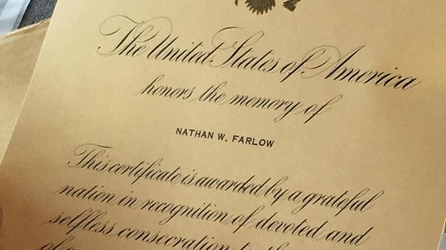 Teen finds Nixon-era commendation letter to family of WWII veteran