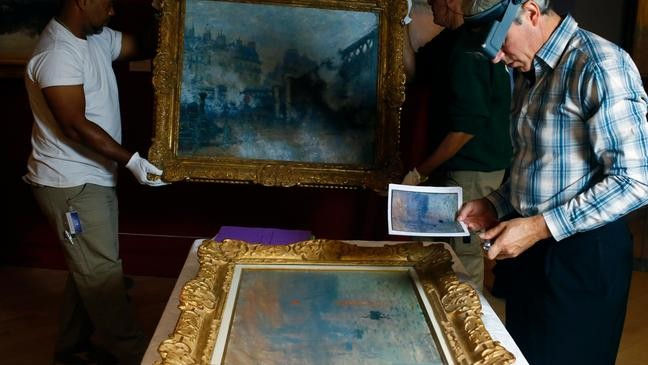 Monet masterpiece goes back to its hometown for first time